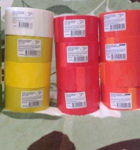 Клейкая лента (скотч) цветная 48мм.*40м.