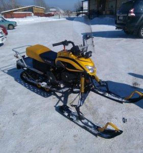 Разборный снегоход Dingo t150