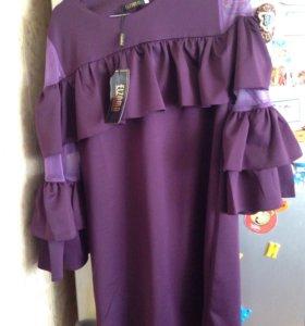 Новое красивое платье 48 р
