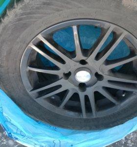 Летняя резина на литых дисках для Peugeot 308