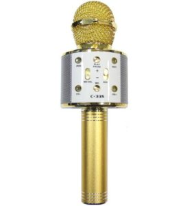 Караоке микрофон с Bluetooth с-335