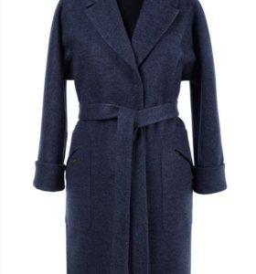 Пальто женское демисезонное с поясом, р.44-46