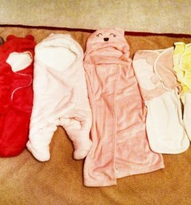 6 разных конвертов для новорожденных