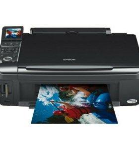 Принтер (мфу) Epson tx409