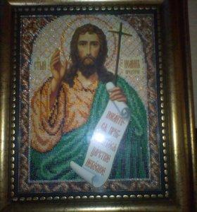 Икона Святой Иоанн Предтеча
