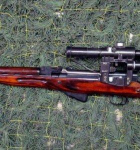 Охотничье ружье карабин СКС