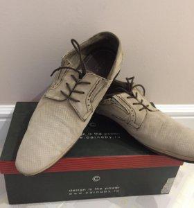 Ботинки летние туфли