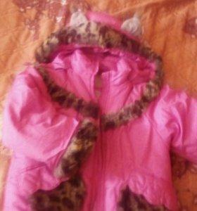 Куртка зимняя,утепленная,рост104