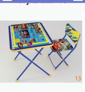 Детский обучающий комплект стол+стул