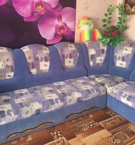 Угловой диван,раздвижной