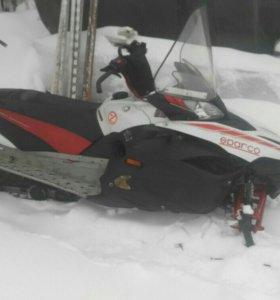 Снегоход yamaha rx 1 mtx