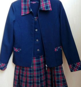 Сарафан с пиджаком