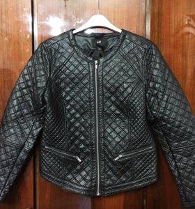 Кожаная куртка H&M