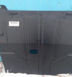 Защита картера Nissan Qashqai J11 999J11UBP00
