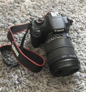 Canon EOS 1200D с объективом Sigma 18-200