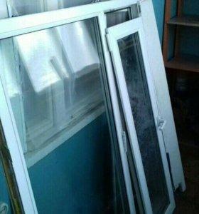 Продам пластиковое окно. Б/у,в хорошем состоянии,