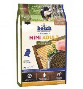 Сухой корм Bosch Mini Adult для собак Птица