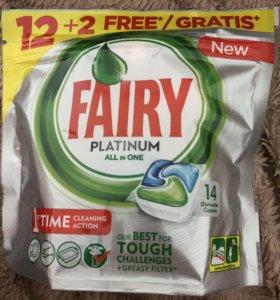 Fairy platinum для посудомоечных машин