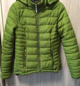 Женская куртка(осень-весна)💚🍀