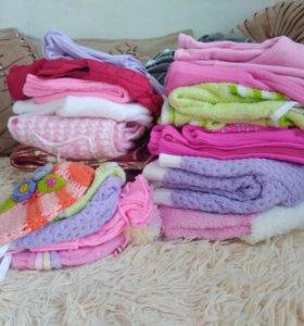 Пакет теплых вещей для девочки