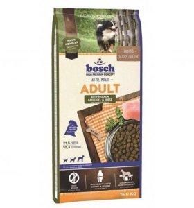 Сухой корм Bosch Adult для собак Птица и просо