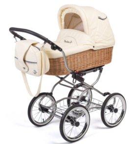 Детская коляска Reindeer Wiklina-Eco Life 2в1