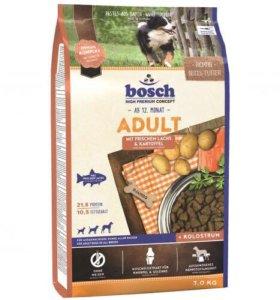 Сухой корм Bosch Adult Salmon&Potato для собак