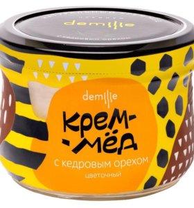 Крем - мёд с кедровыми орехами