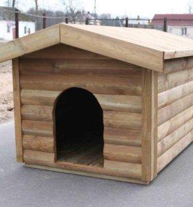 Будка или вальер для собаки