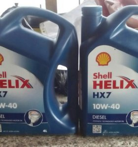 Shell HELIX HX 7 10 W 40 ДИЗЕЛЬ