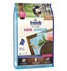 Сухой корм Bosch Mini Junior для щенков
