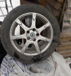 Диски литые R-16. Форд фокус 2,3 .