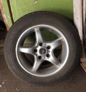 колёса от  Лансера ( комплект-4штуки)