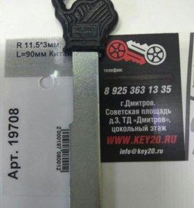 Ключ гаражный R11.5*3мм. плоский.