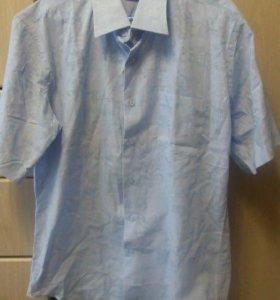 новая мужская рубашка 100% хлопок размер L