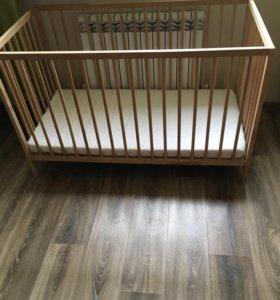 Детская эко кроватка