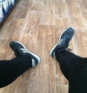 Кроссовки New balance 500 чёрные. 43-44 размер