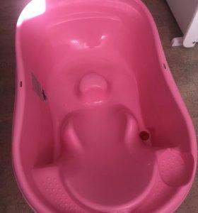 Ванночка с термометром и сливом