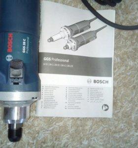 Прямая шлифовальная машина Bosch GGS 28С