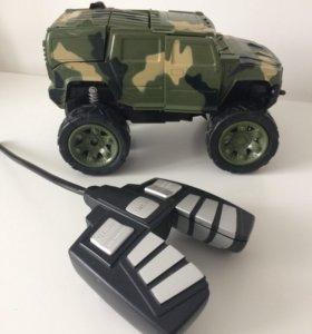 Машина военная, с пультом