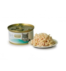 Консервы Brit Care Kitten для котят Цыпленок 80 гр