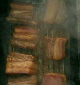 Мясо копчёное