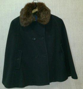 Пальто-понча