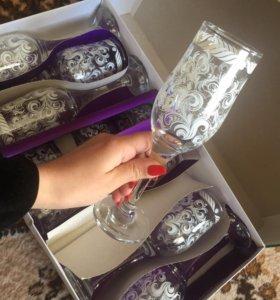 Подарочный набор бокалов и рюмок
