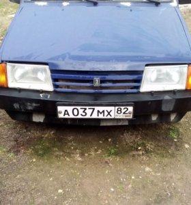 ВАЗ (Lada) 2109, 1989