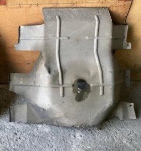 Защита двигателя на а/м Газель