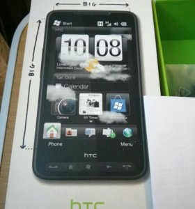 Оригинальная коробка от HTC HD2