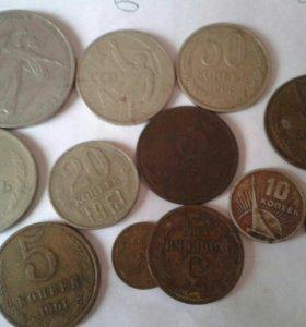 Монетки советские