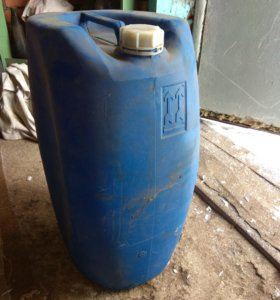 Канистра пластиковая 50 литр. 20 литр. 10 литр.