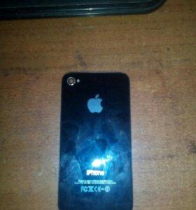 Задняя крышка айфон 4